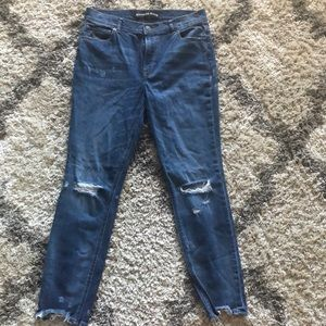 Express Jeans legging mid rise